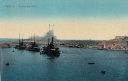 MALTA Grand Harbour 1910? - Malta