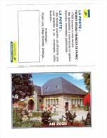 Petit Calendrier La Poste Bureau De Poste De Nieul Haute Vienne - Calendriers