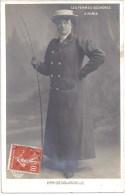 75 - LES FEMMES COCHERES A PARIS - MME DECOURCELLE - CARTE PHOTO - ELD - Circulé En 1908 - TBE - Openbaar Vervoer