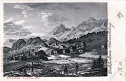 Zwinglihütte Lisighaus 1820 Karte Gelaufen 1903 - SG St. Gallen