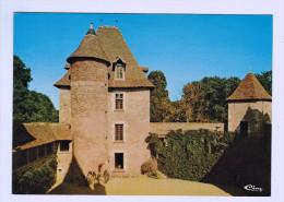 8576  CPM  SAINT POURCAIN Sur BESBRE ; Château De Toury - Cour Intérieure Et Tour Du Salon ACHAT DIRECT !!! - Frankreich