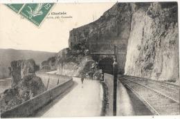 CAZOULES  Le Tunnel Au Pas Du Raysse TTB - Sonstige Gemeinden