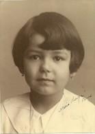 Gorgeous Photograph Of A Kid By Furtado & Reis - Lisboa (22x16cm) - Personnes Anonymes
