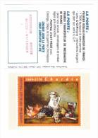 Petit Calendrier La Poste Timbre Philatelie Chardin - Calendriers