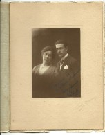 Gorgeous Photograph Of A Couple By Carlos Vasques - Lisboa (26.5x20cm) (only Photo 14x10cm) - Personnes Anonymes