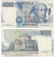 Italia - Italy 10.000 Lire 1984 Pick-112-d Ref 500 - [ 2] 1946-… : República