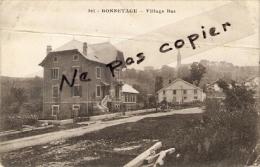 BONNETAGE - Village Bas - Voir état Carte Avec Pli Marqué - Frankreich