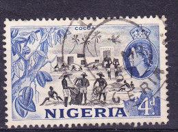 Nigeria 1953 - 4d Cocoa - Fine Used - Nigeria (1961-...)