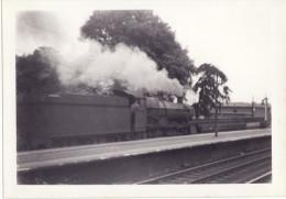 Railway Photo GWR 6872 Crawley Grange Basingstoke 1962 Great Western 4-6-0 Loco - Eisenbahnen