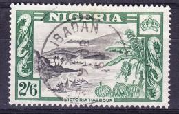 Nigeria 1953 - 2/6d Victoria Harbour - Fine Used - Nigeria (...-1960)