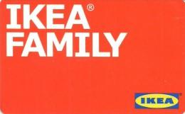 CUSTOMER CARD * LOYALTY CARD * IKEA FAMILY * STORE * IKEA Family 2013 * Hungary - Andere