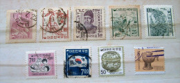 South Korea 1958 - 1980 Ginseng Root Ceramic Horse Soldier Rice - Korea (...-1945)
