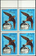 BIRDS OF PREY-FALCONARY-CINDRELLA-BLOCK OF 4-MNH-706 - Erinnophilie