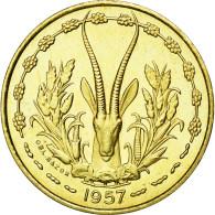 Monnaie, French West Africa, 10 Francs, 1957, FDC, Aluminum-Bronze, KM:E6 - Togo