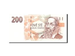 Czech Republic, 200 Korun, 1998, KM:19, Undated, NEUF - Tchéquie