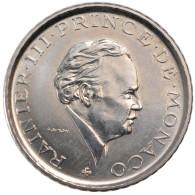 Monaco, Rainier III, 2 Francs - 1960-2001 Nouveaux Francs