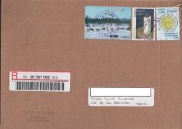 Réunion Lettre Recommandée 2015 Affranchie Avec Timbres D´Espagne - Réunion (1852-1975)