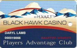 Black Hawk Casino Black Hawk CO - Charter Member 1st Issue Slot Card - Casino Cards