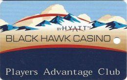 Black Hawk Casino Black Hawk CO - 2nd Issue Slot Card  (Blank) - Casino Cards