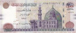 EGYPT 200 POUNDS EGP 2013  P-69b SIG/ RAMEZ #22 PREFIX 999 UNC */* - Egitto