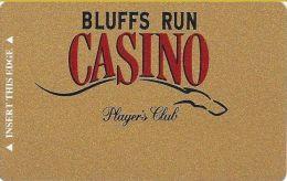 Bluff's Run Casino Council Bluffs IA - Player's Club Slot Card (Blank) - Casino Cards