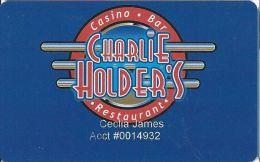 Charlie Holder´s Casino Henderson NV Slot Card - Casino Cards