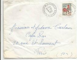 OBLITERATION MANUELLE  DE FLORENTIN LA CAPELLE (AVEYRON) DU 3/12/1965 - 1961-....