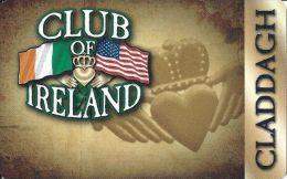 Club Of Ireland Claddagh Players Card - Las Vegas, NV - Casino Cards