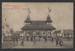DF / 59 NORD / ROUBAIX / EXPOSITION INTERNATIONALE DU NORD DE LA FRANCE 1911 / ENTRÉE DU VILLAGE FLAMAND / ANIMÉE - Roubaix