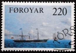 Faroe Islands  1983 Dampfschiffe/Ship   MiiNr.79  (O)  ( Lot  C 2050 ) - Féroé (Iles)
