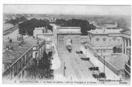 MONTPELLIER LE PALAIS DE JUSTICE L ARC DE TRIOMPHE ET LE PEYROU **** RARE A SAISIR *** - Montpellier