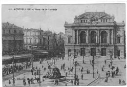 MONTPELLIER PLACE DE LA COMEDIE - Montpellier