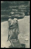 SÃO VICENTE- COSTUMES - Washer Woman Carte Postal - Cap Vert