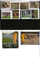 Nord Korea  1986 Fussball Geschnitten Postfrisch, North Korea MNH Imperforated Soccer / Football - World Cup