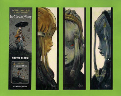 3 Marque Page.   Bookmark.   BD    Editions Vents D'Ouest - Bladwijzers