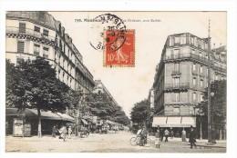 CPA 75 PARIS 18 Eme Montmartre Rue Ordener Coin Barbes - Distretto: 18
