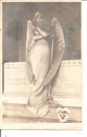 STATUE DE FEMME ANGE    Tombeau De FRANCESCO ONETO      J.NEER - Ohne Zuordnung