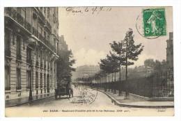 CPA 75 PARIS 16eme Boulevard Flandrin Pris De La Rue Dufrenoy - Arrondissement: 16