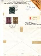 Noël - Cloches - Liechtenstein - Lettre Recommandée De 1960 - Oblitération Schaan - Liechtenstein