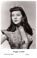 PEGGY CASTLE - Film Star Pin Up - Publisher Swiftsure Postcards 2000 - Entertainers