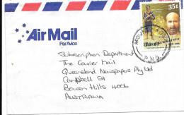 PAPUA & NEW GUINEA -  1988 USED ENVELOPE TO AUSTRALIA - Papouasie-Nouvelle-Guinée