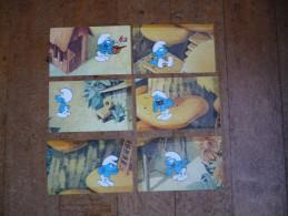 Les 100 Schtroumpfs : 6 Cartes Chocolat Kwatta - Spirou Magazine