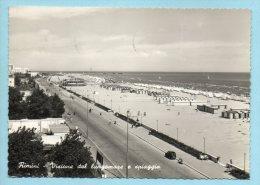 Rimini - Visione Del Lungomare E Spiaggia - Rimini