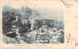 Georgie - Tiflis - Le Jardin Botanique (tampon Taxe Et Taxe Manuscrite) - Géorgie