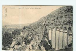 LA MURE , La Motte D' Aveillans - Ligne De Chemin De Fer Du Petit Train - Viaduc - 2 Scans - La Mure
