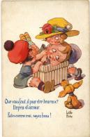ILLUSTRATEUR LITTLE PITCHE  POUR ETRE HEUREUX SERIE 111 578 - Illustrateurs & Photographes