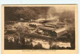GAVET - La ROMANCHE -  La Romanche - Usine Hydro électrique - TBE -  2 Scans - Sin Clasificación