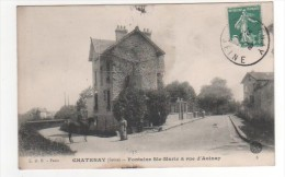 CHATENAY   FONTAINE STE MARIE  RUE D AULNAY - Chatenay Malabry