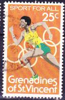 Grenadinen Of St. Vincent - Laufen (Mi.Nr. 189) 1980 - Gest. Used Obl. - St.Vincent E Grenadine