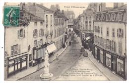 CPA Toul Pittoresque Meurthe Et Moselle Place Croix En Bourg Rue Gambetta Magasin Incroyable Café Cousin édit Gerdolle - Toul